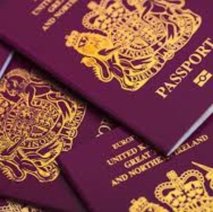 uk passport for crypto exchange id