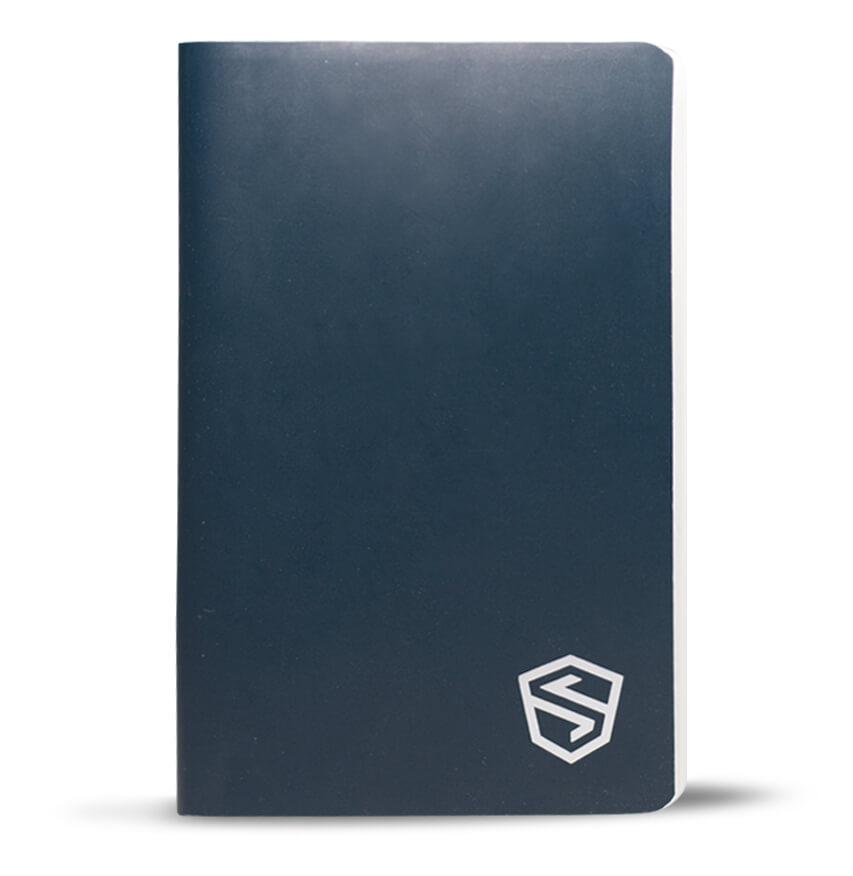 waterproof crytpo code notebook